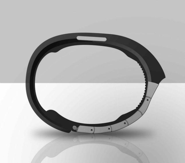 Vue de côté du concept de la Galaxy Gear