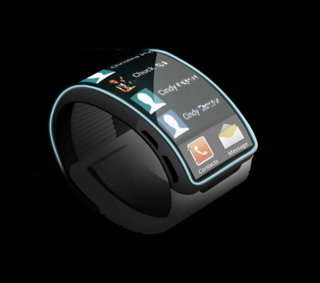 Concept de la Galaxy Gear