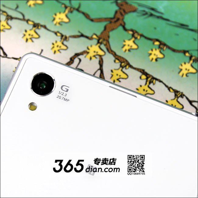 Vue du capteur de 20,7 mégapixels du Sony Homani