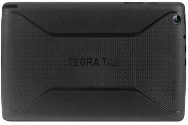Vue de dos de la tablette Nvidia Tegra Tab