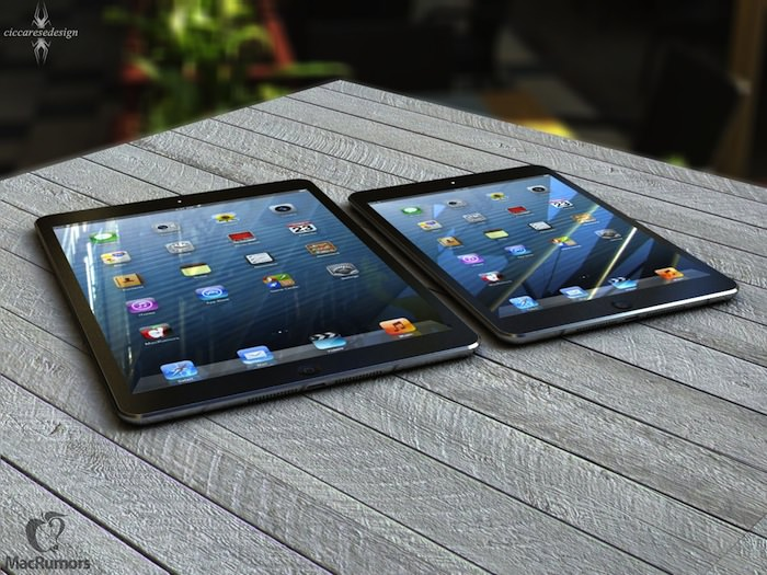 L'iPad 5 devrait être plus fin en reprenant la conception de l'iPad Mini