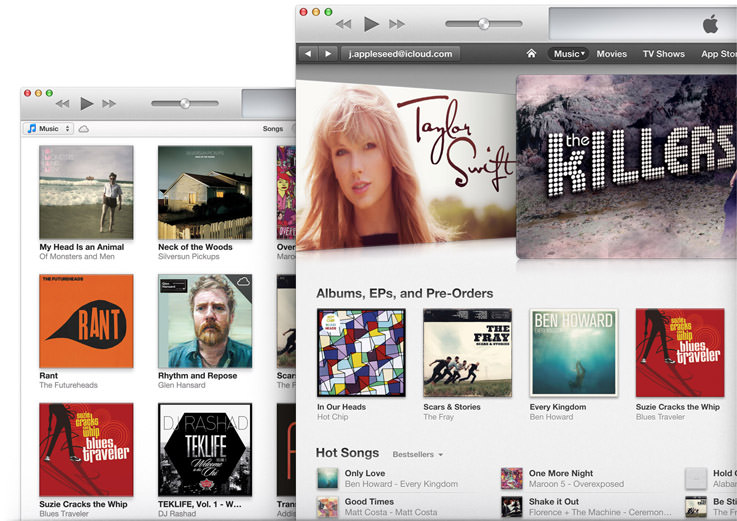 Apple lance iTunes 11.1 afin de supporter iOS 7, et incorpore iTunes Radio