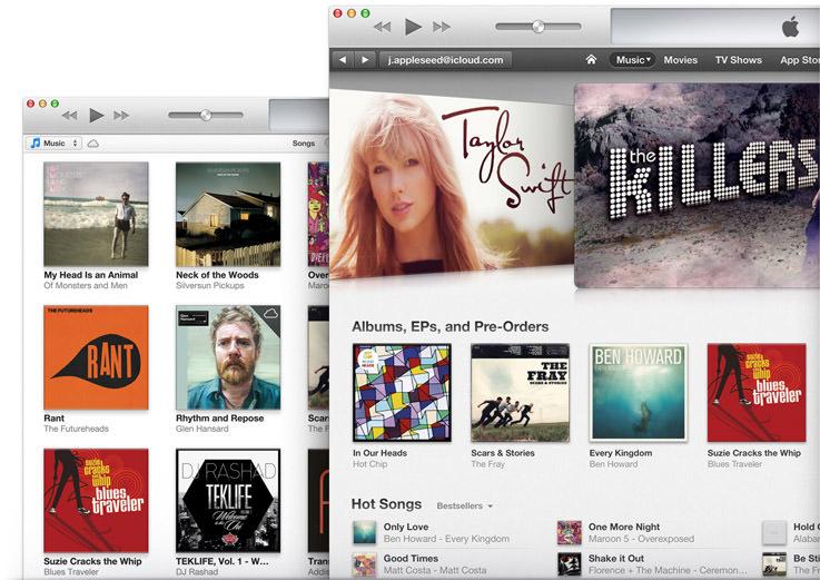 Apple lance iTunes 11.1 afin de supporter iOS 7, et incorpore iTunes Radio