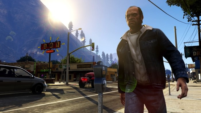 Capture d'écran de GTA V