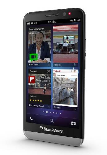 BlackBerry lance le Z30, un smartphone avec un écran de 5 pouces