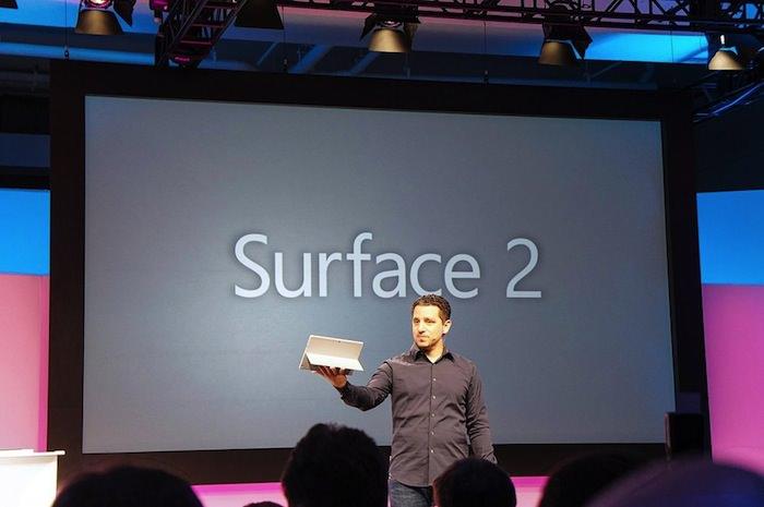 Comment la Surface 2 se classe face à la Surface RT ?