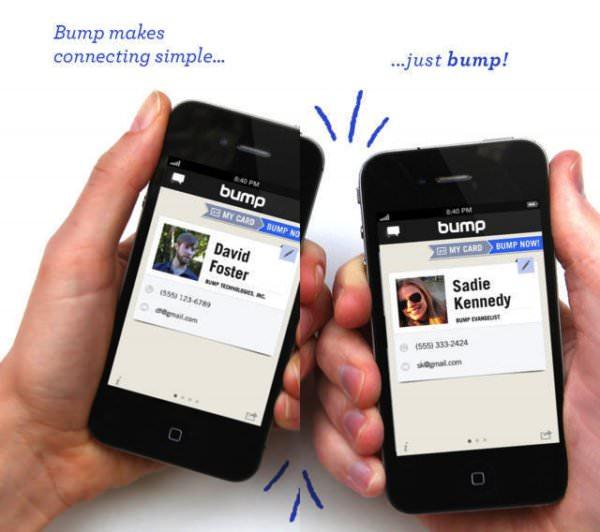 Le partage de fichiers vu par Bump