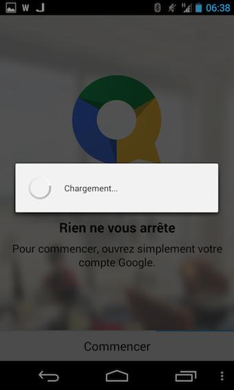 Il suffit de connecter son compte Google Drive sur Quickoffice