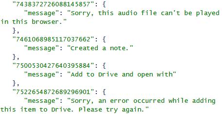 Le code source de Keep laisse sous entendre une intégration de Google Drive et des vidéos