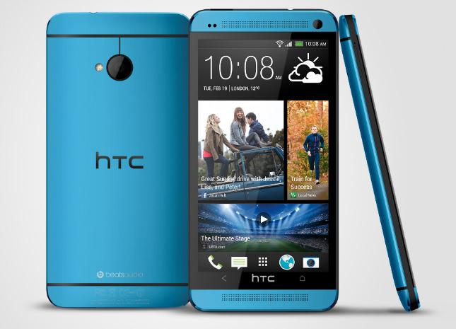 Le HTC One et le HTC One Mini arriveront en un coloris bleu
