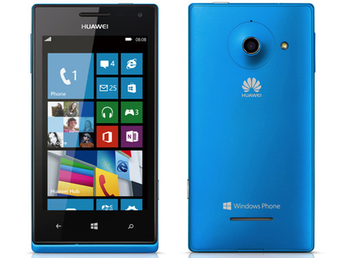 L'Ascend W1 a été le premier engagement de Huawei pour Windows Phone