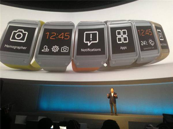 Tout un tas d'applications seront accessibles avec la Galaxy Gear