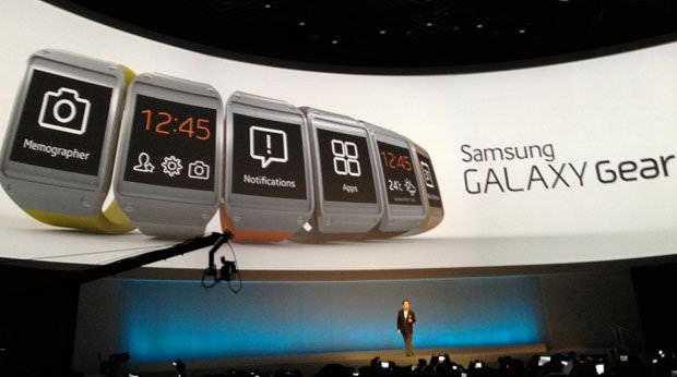 IFA 2013 : la Galaxy Gear n'aura que 12 applications disponibles lors de son lancement