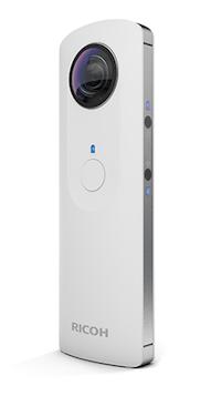 La caméra Theta de Ricoh capture des images à 360 degrés
