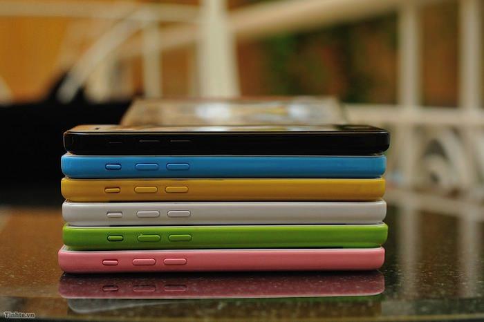 L'iPhone 5C arriverait avec diverses coques colorés