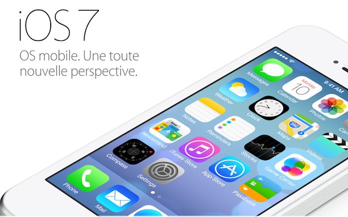 iOS 7 devrait officiellement être lancé pour tous !
