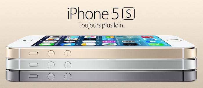 Un design magnifique pour l'iPhone 5S