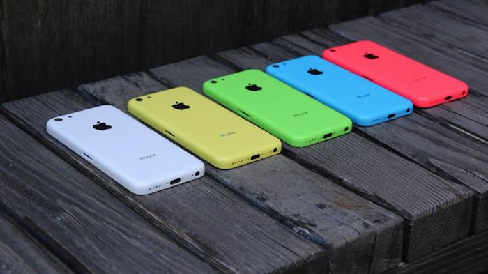 L'iPhone moins cher est supposé arriver en multiples coloris