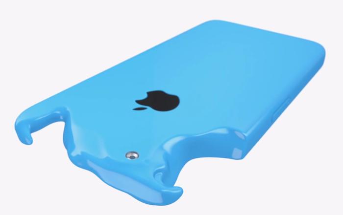 La première publicité de l'iPhone 5C d'Apple est volontairement colorée