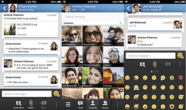 Le lancement de BBM pour Android et iOS mis en pause par BlackBerry