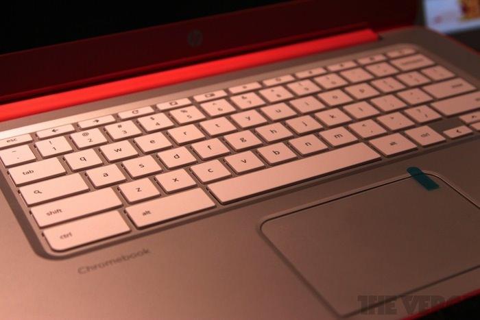 Clavier du Chromebook 14 Coral Peach