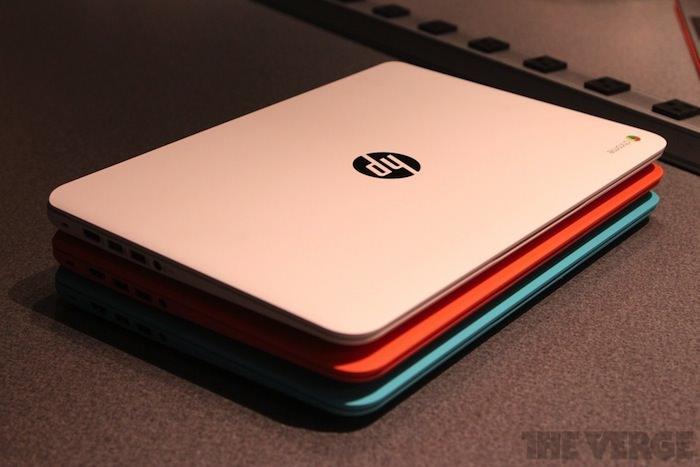 Trois nouveaux Chromebooks chez HP