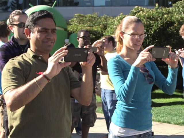 Un Googler aperçu avec le possible Nexus 5