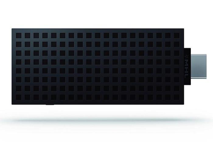 Vue de dessus du Sony BRAVIA Smart Stick