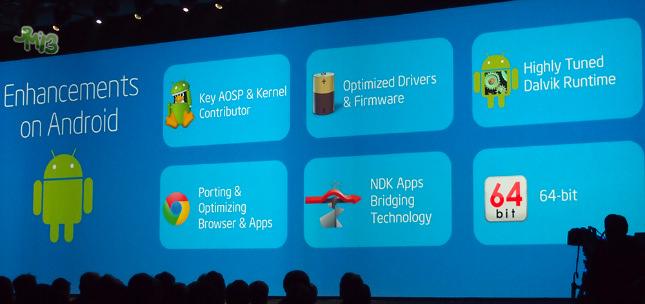 Le support des processeurs 64 bits est à venir dans Android 4.4 KitKat ?