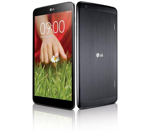 LG annonce la G Pad, une tablette Android de 8,3 pouces, rivale de l'iPad Mini