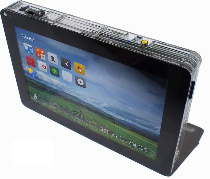 La DukePad est la tablette d'Oracle intégrant un Raspberry Pi et JavaSE 8