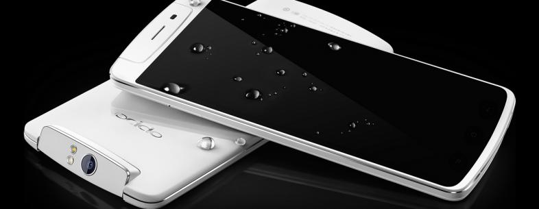 Oppo dévoile le N1, un smartphone avec une caméra rotative et des commandes tactiles à l'arrière
