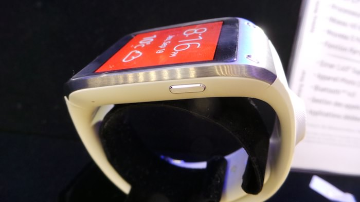 Voici la Samsung Galaxy Gear