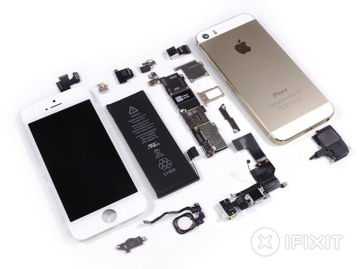 Pièces détachées de l'iPhone 5S