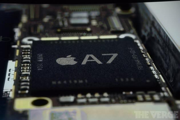 L'iPhone 5S arrive désormais avec une puce A7 de 64 bits
