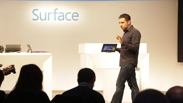 Microsoft vient d'annoncer la Surface 2 et la Surface Pro 2