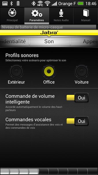 Application mobile Jabra