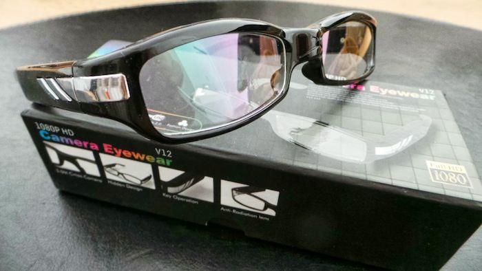 Packaging des lunettes
