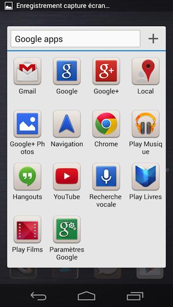 Différents thèmes sont disponibles au lancement du smartphone