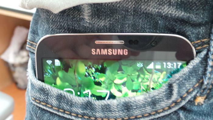 Un Galaxy Mega dans une poche