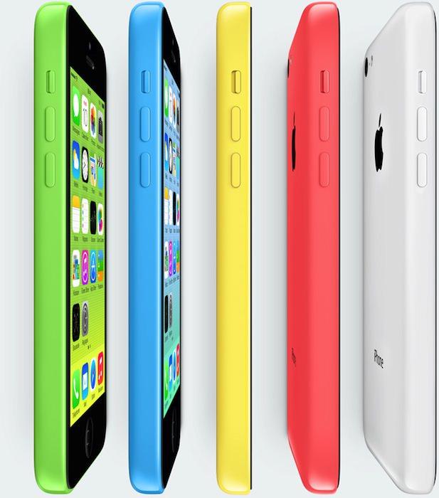 L'iPhone 5C se distingue par ses multiples couleurs