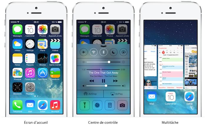 iOS 7 arrivera pour tous le 18 septembre