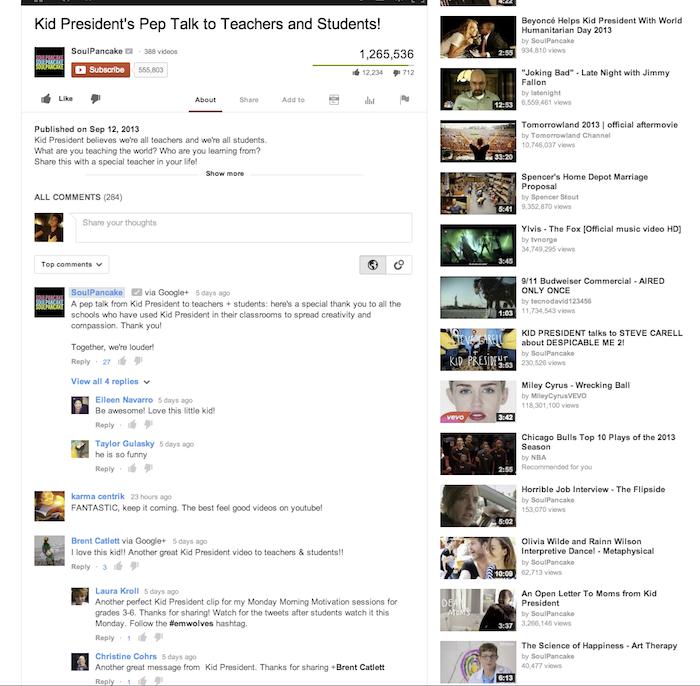 Vous voulez poster des commentaires sur YouTube ? Vous allez avoir besoin d'un compte Google+