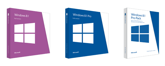 Windows 8.1 vous coûtera 119,99 $ dans sa version classique, et 199,99 $ pour l'édition 'Pro'