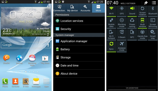 Android 4.3 serait prêt pour le Galaxy Note 2