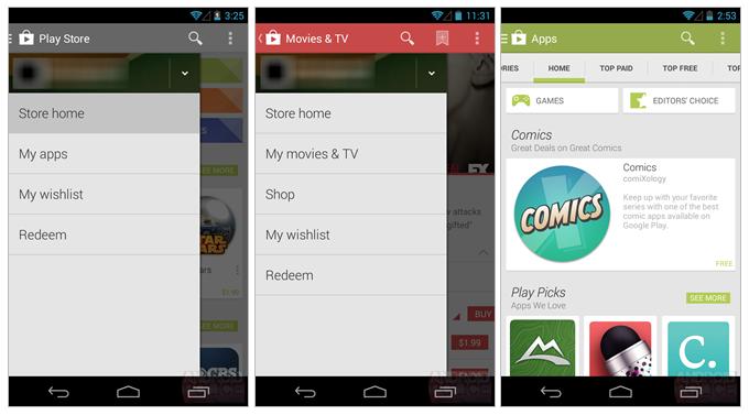 Android 4.4 KitKat arrivera avec à nouveau une version remaniée du Google Play Store