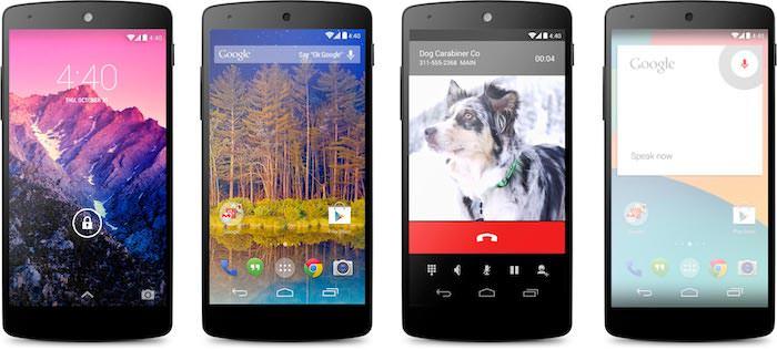 Une nouvelle conception pour Android 4.4 KitKat
