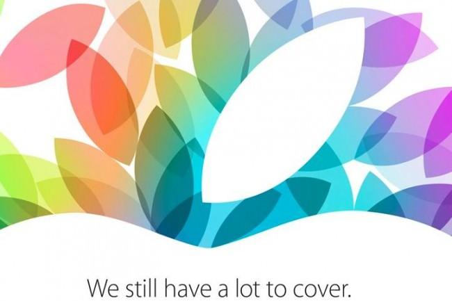 Apple confirme son événement le 22 octobre, et beaucoup de chose à montrer !