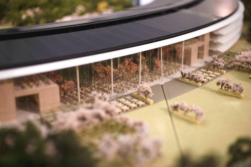Le campus a été construit avec le soucis d'être plus 'collaboratif'