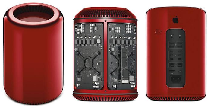 Apple produit un seul Mac Pro rouge, et ça va vous coûter cher